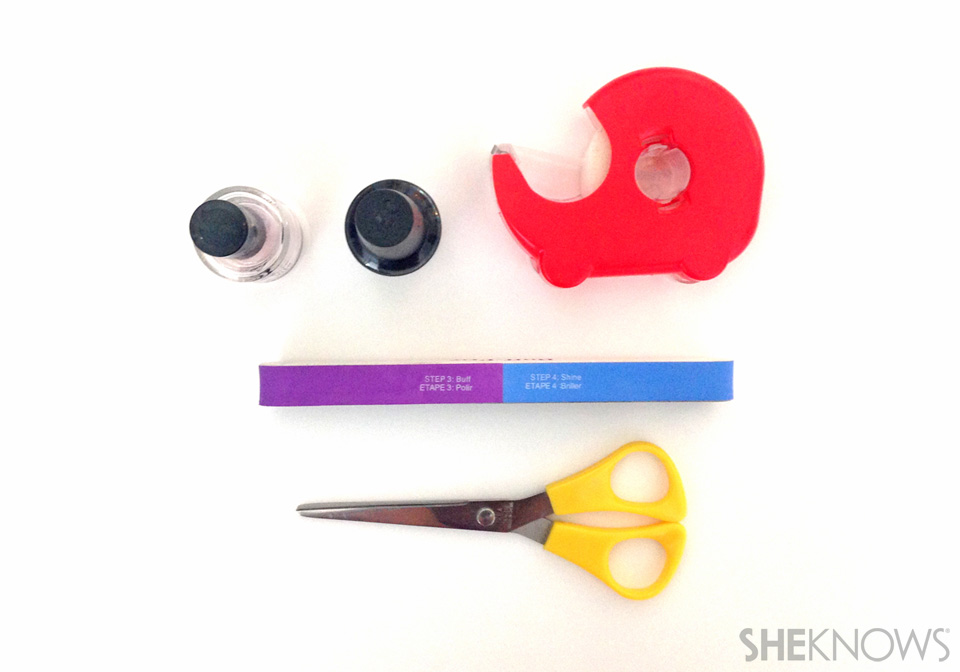 How to save your chipped manicure: Materials and Tools