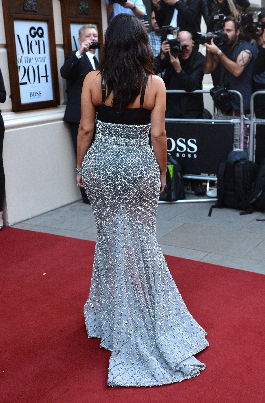 Kim Kardashian in a Ralph & Russo gown 2