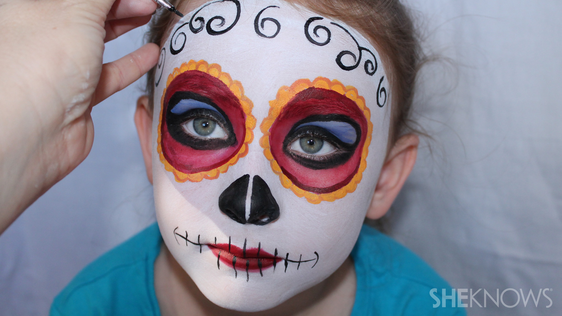 3 Halloween face paint tutorials that will win your kid - Cool Makeup Ideas For Kids