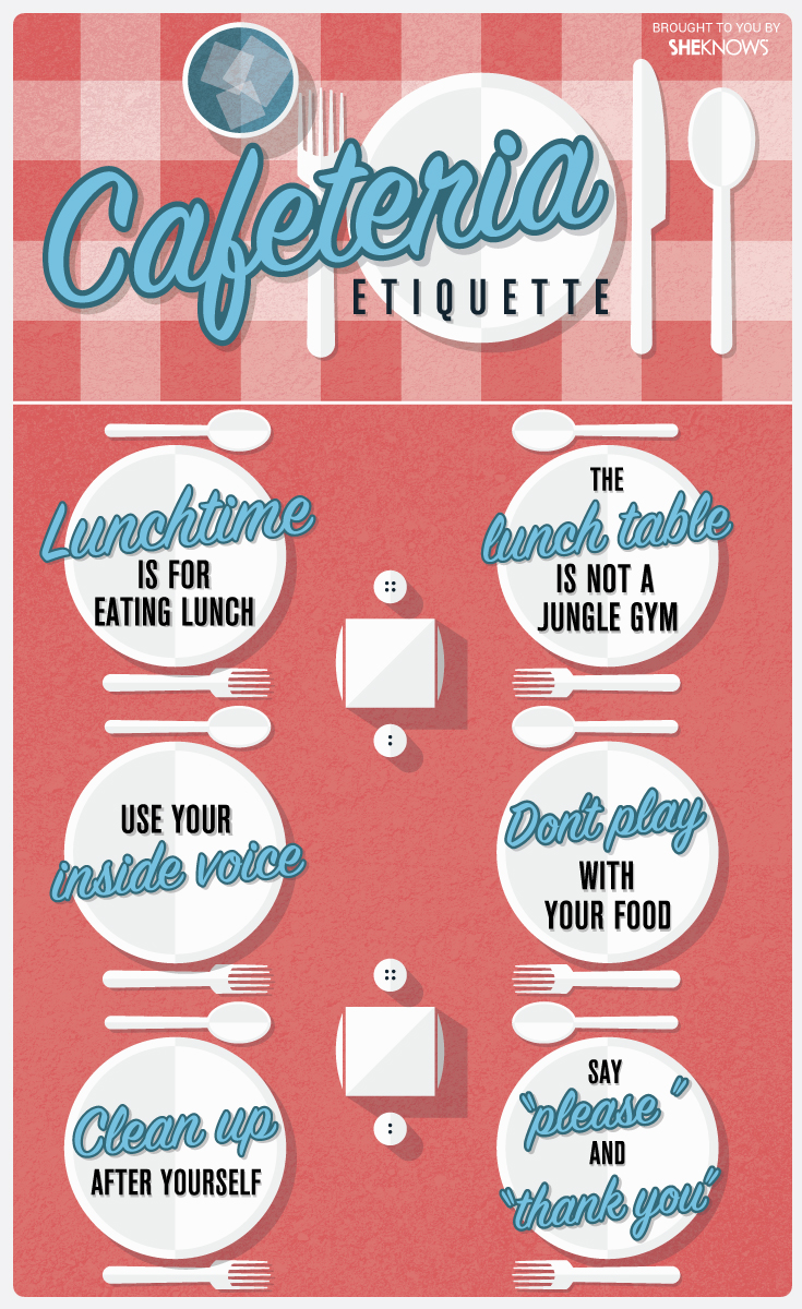 Cafeteria etiquette | Sheknows.com