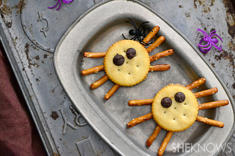 Spider cracker bites