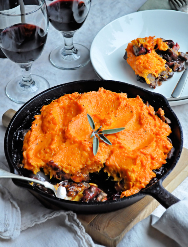 11. Lamb and roasted root vegetable shepherd's pie recipe