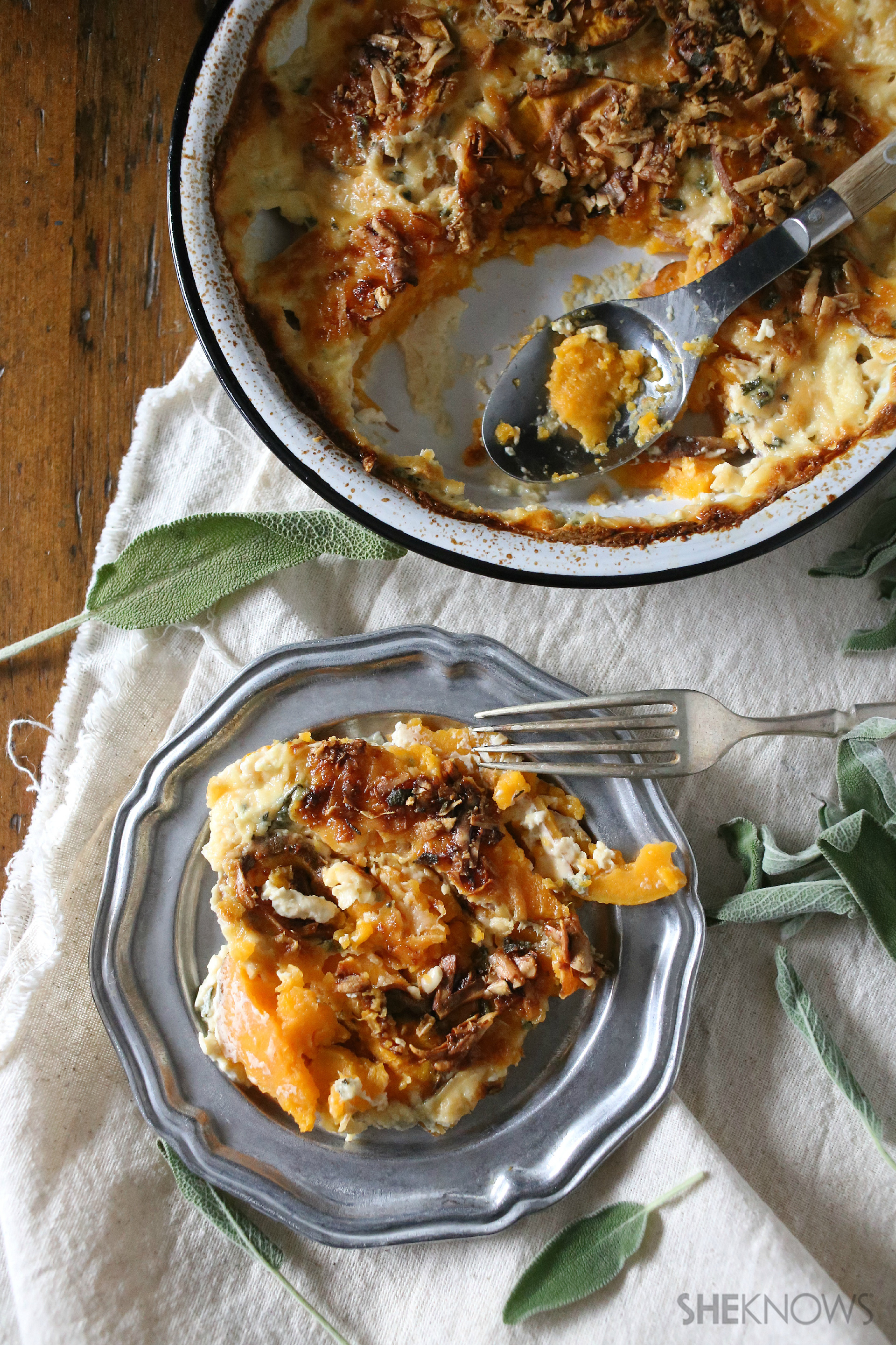 ... potato gratin potato gratin sweet potato gratin with smoky breadcrumbs