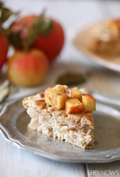 Apple cinnamon sugar cookie bars