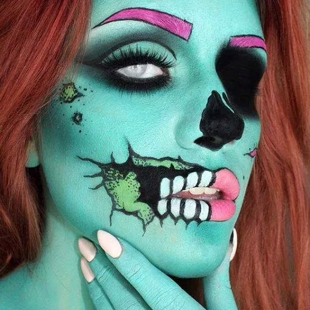 26. Coolest. Zombie. Ever.