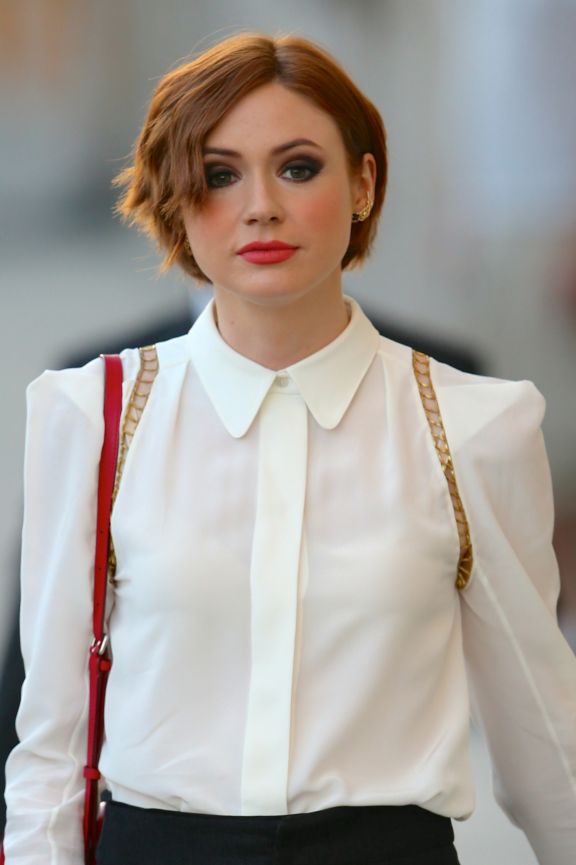 Karen Gillan Hair Regrowth Best Short Hair Karen Gillan