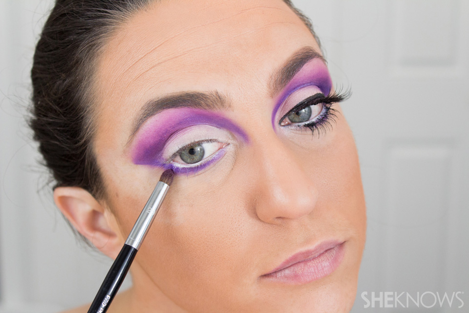 Barbie Halloween Makeup: Step 13