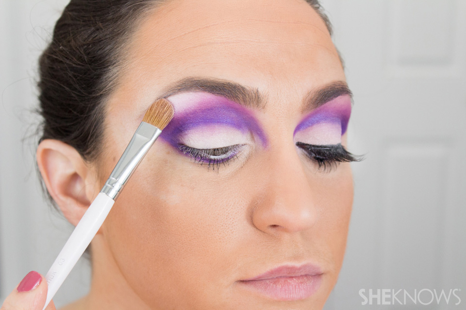 Barbie Halloween Makeup: Step 15