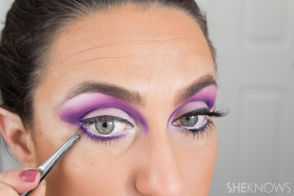 Barbie Halloween Makeup: Step 17