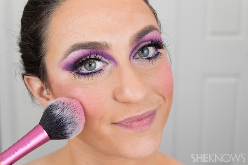 Barbie Halloween Makeup: Step 21