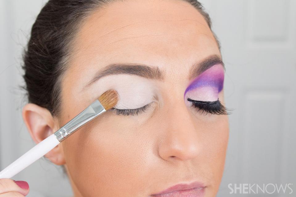 Barbie Halloween Makeup: Step 4