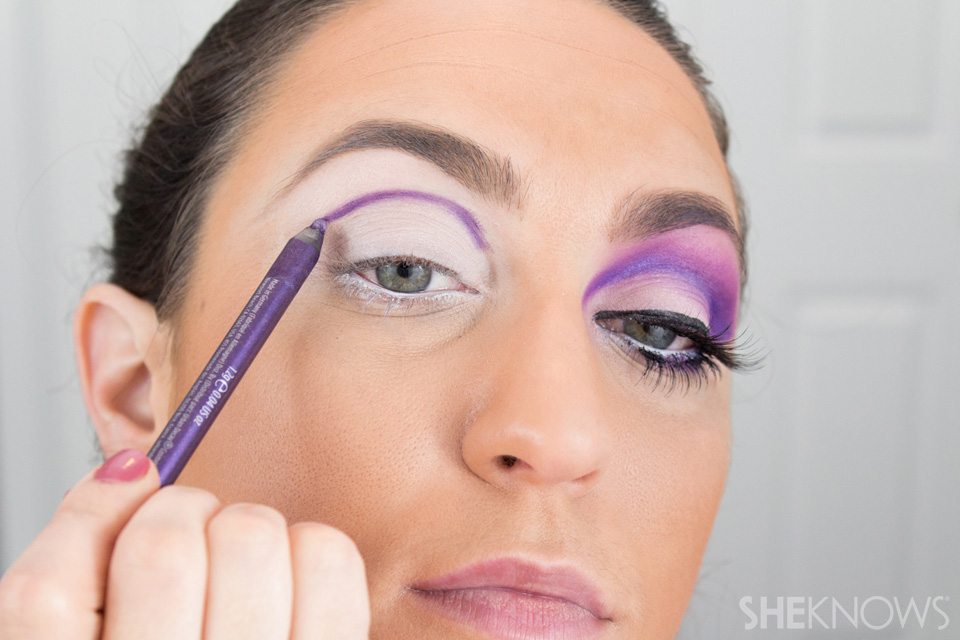 Barbie Halloween Makeup: Step 5