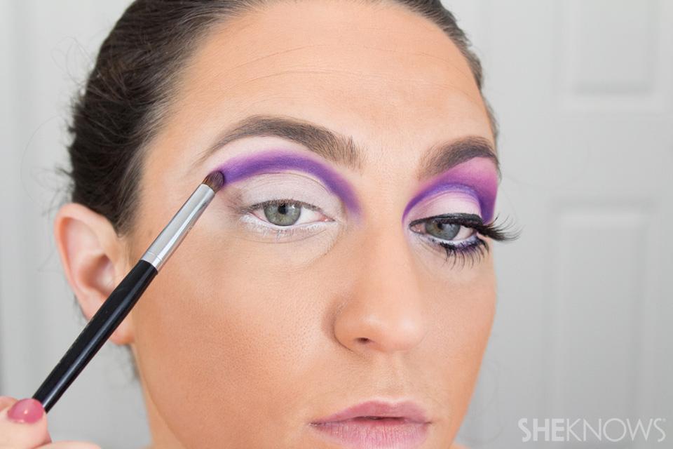 Barbie Halloween Makeup: Step 6