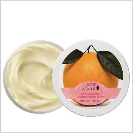 100% Pure Pink Grapefruit Whipped Body Butter