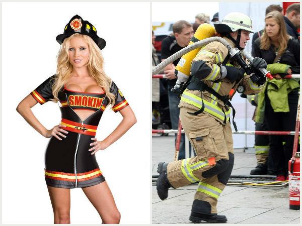 Smoking hot firefighter