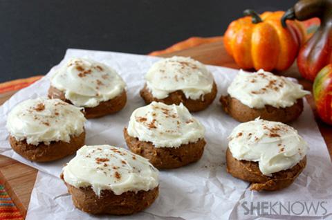 Two-ingredient pumpkin cookies