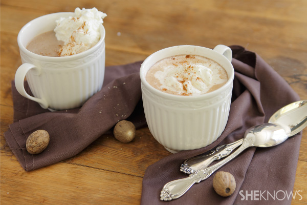 ... cup of pumpkin hot chocolate ? Drink up from October to the new year