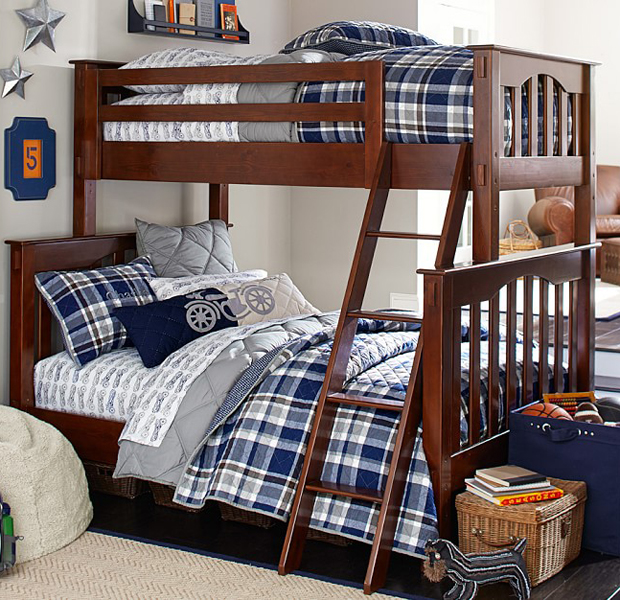 Year Old In Bunk Bed
