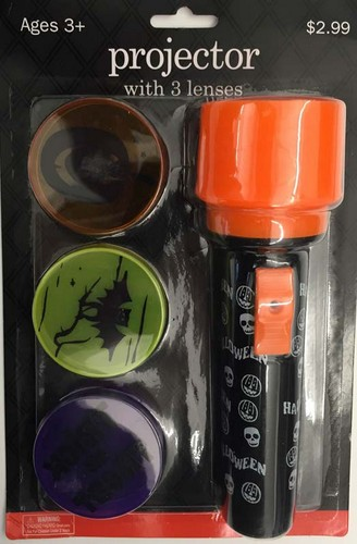 Recalled Meijer Halloween flashlight