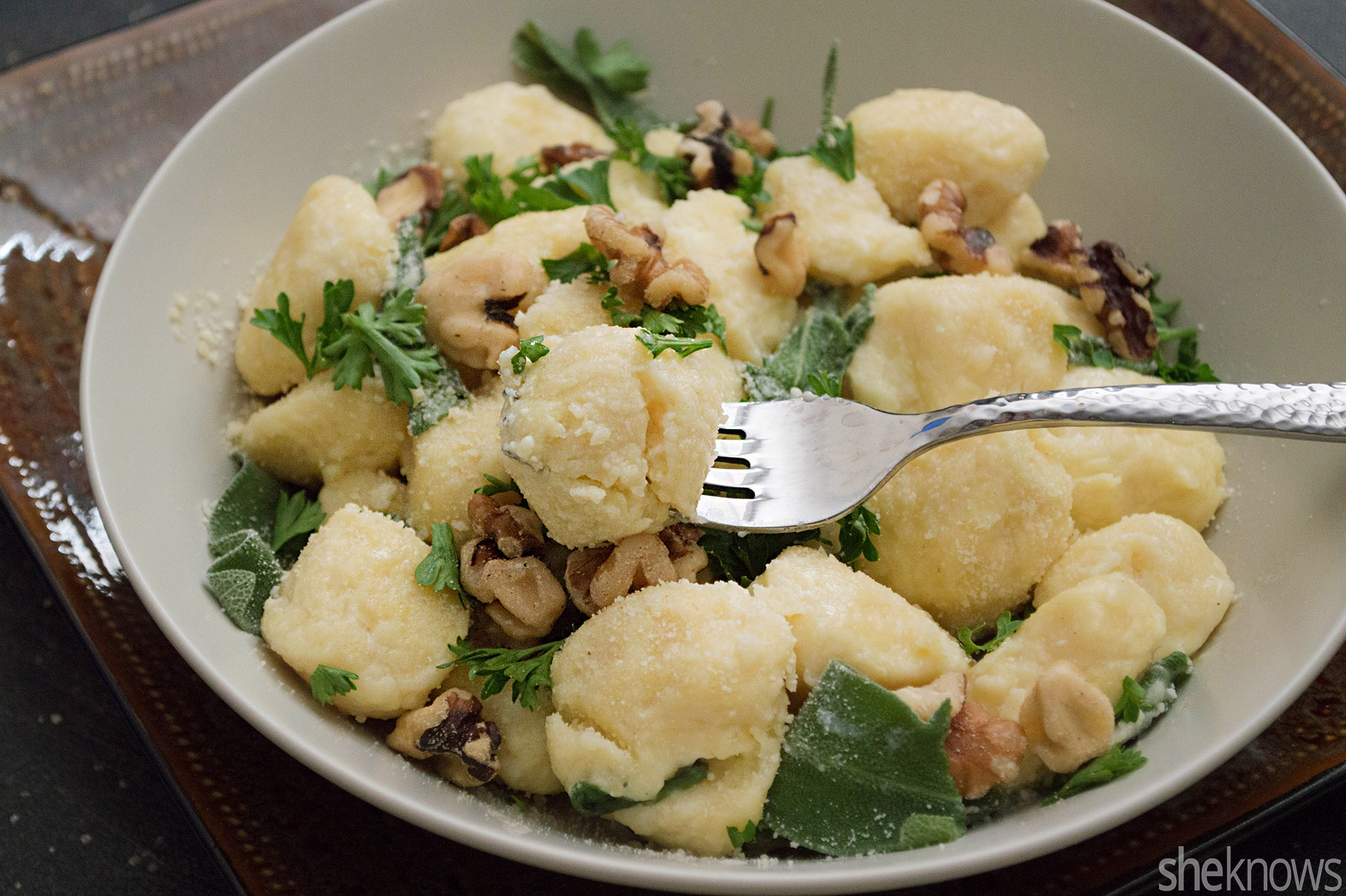 Ricotta gnudi with brown butter sage sauce recipe