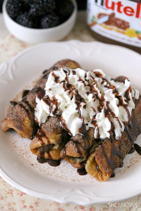 Banana French Toast Nutella Nutella French Toast