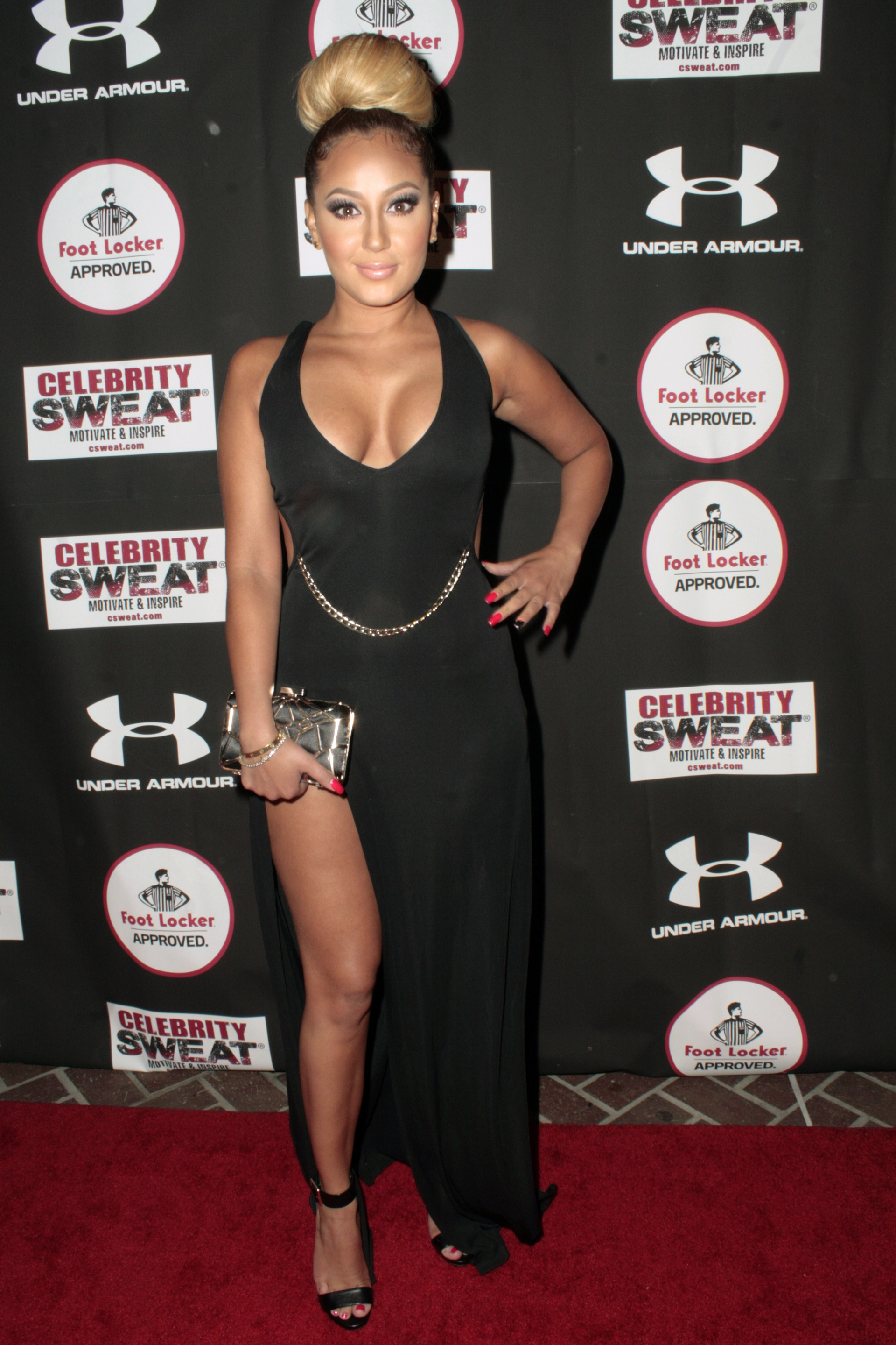 High up to the sky: Adrienne Bailon