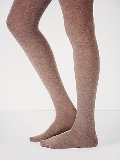 Cashmere Ribbed Tights