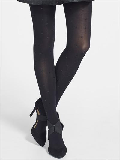 DKNY Sequin Embellished tights