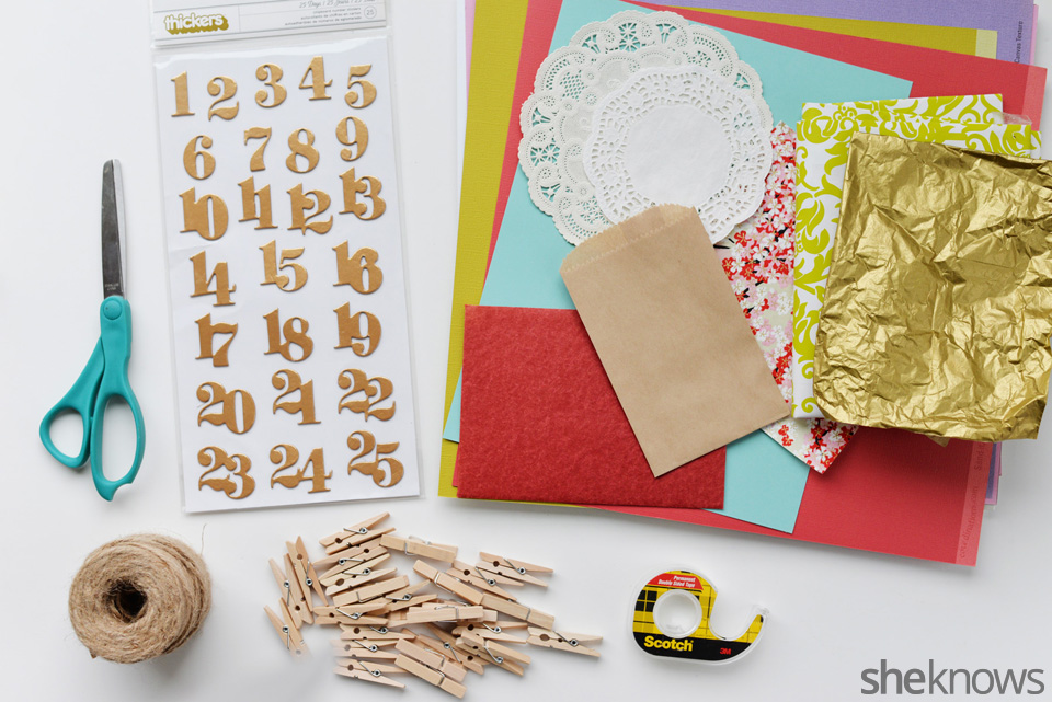 Diy Calendar Supplies : The one christmas craft you have to make before end of