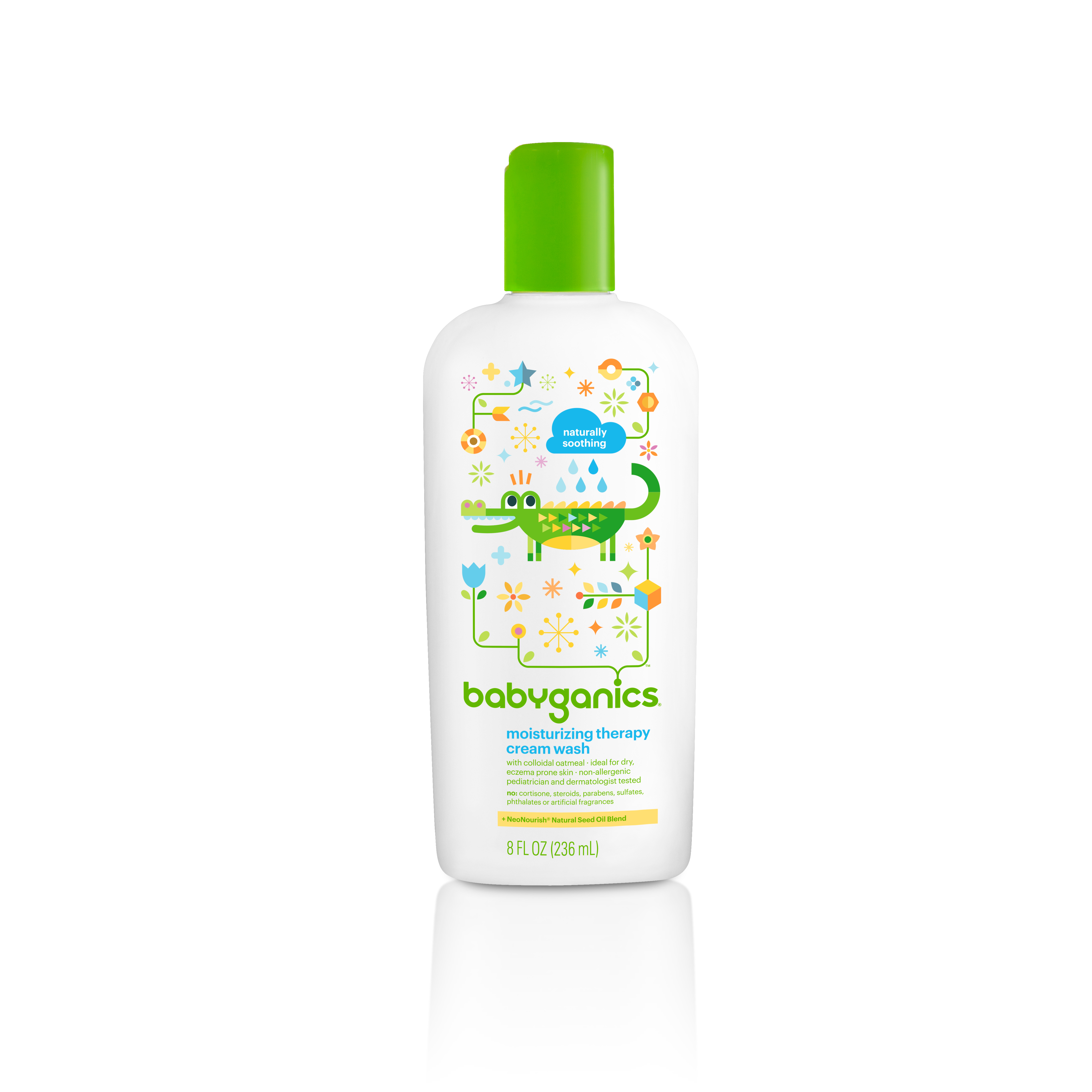 Protecting baby's skin: Using a moisturizing wash