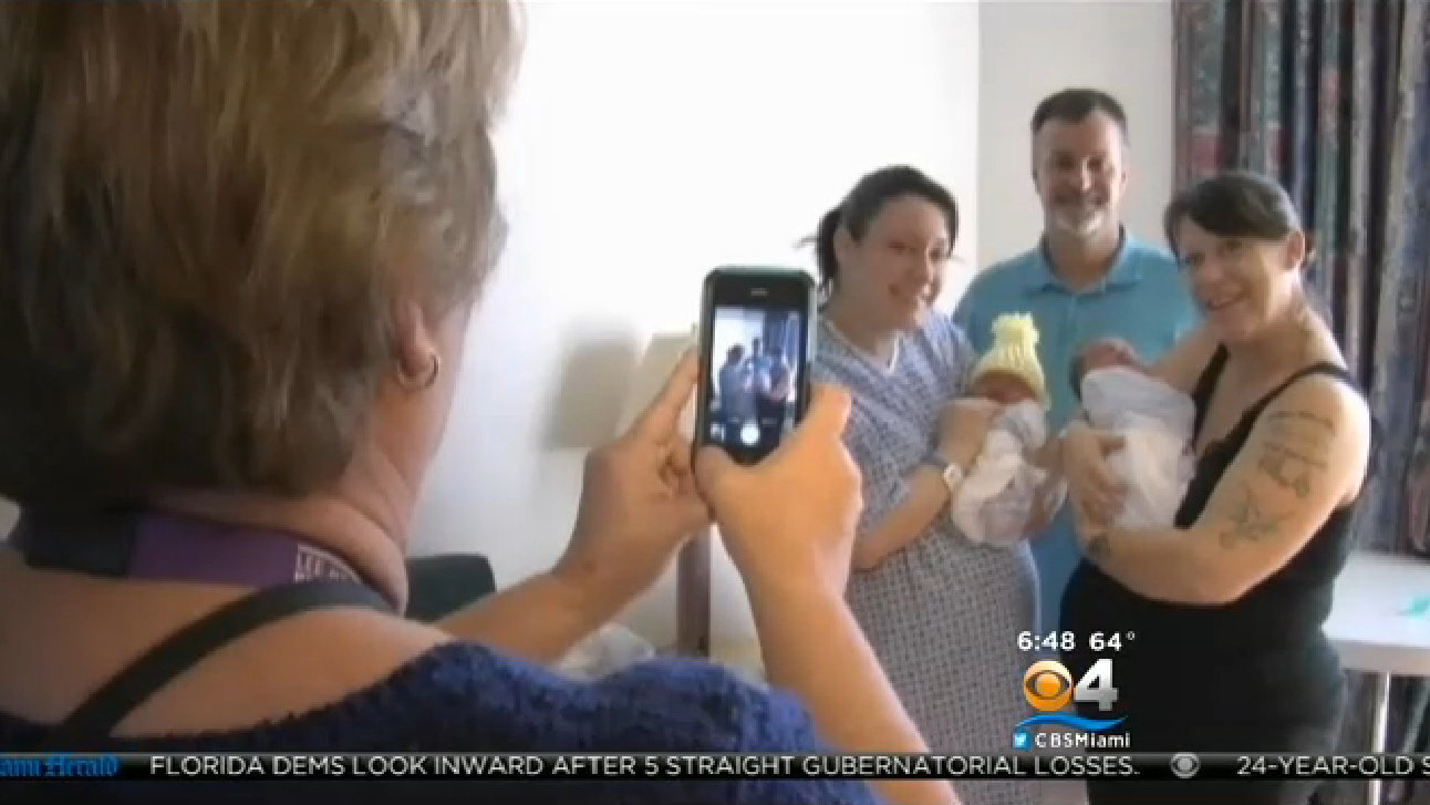Mom and daughter give birth on same day
