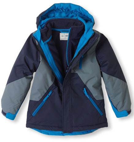Warm and toasty jackets for kids