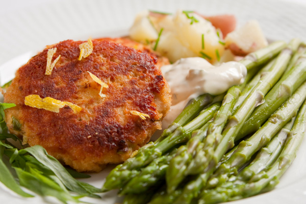 Potato salmon cakes are better than frozen fish sticks any day of the ...