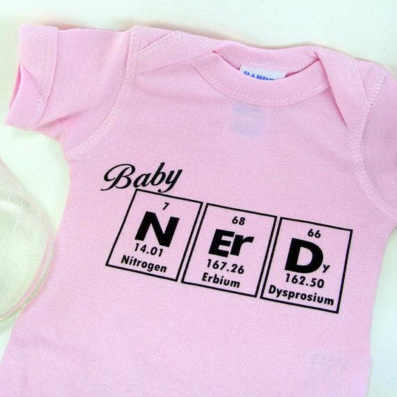 Chemistry nerd onesie