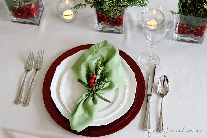 13 Holiday Table Setting Ideas