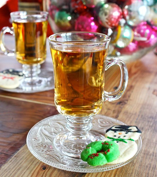 14. Rye and ginger hot toddy