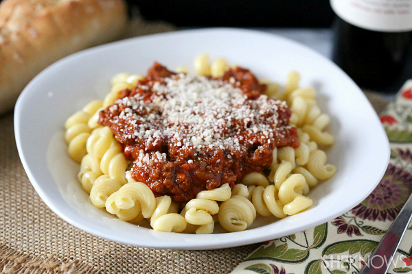 Super-easy slow cooker Bolognese sauce recipe