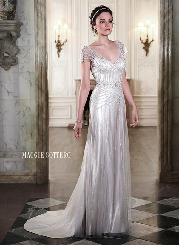 Maggie Sottero sophisticated