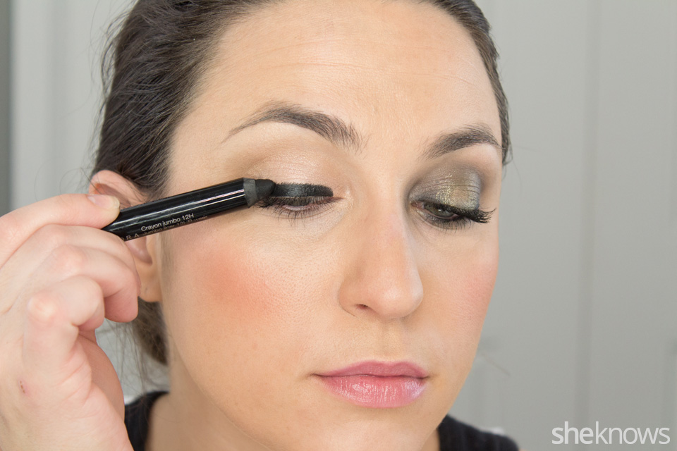 Fast and Festive Holiday Look: Step 1