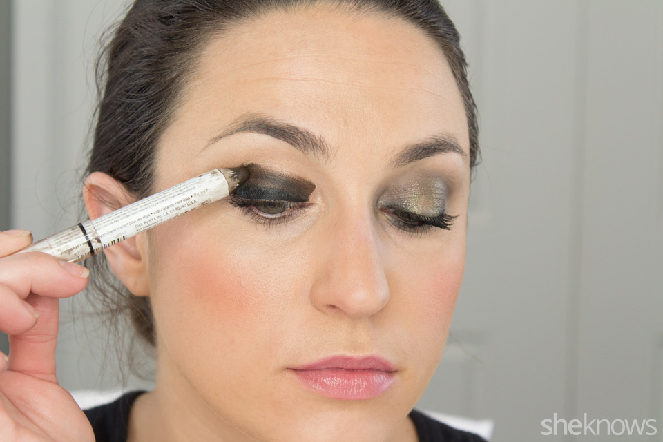 Fast and Festive Holiday Look: Step 2