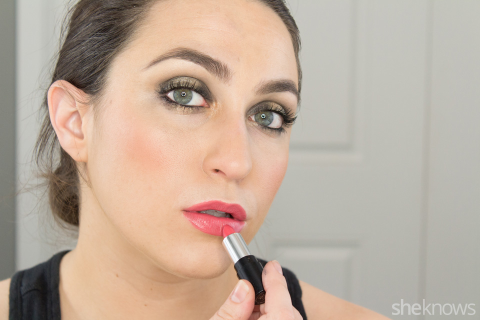 Fast and Festive Holiday Look: Step 11
