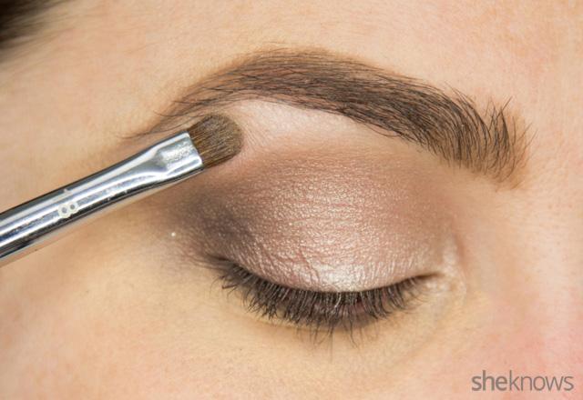 A glitter eye makeup tutorial: Step 6