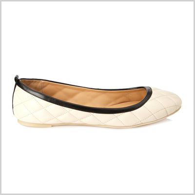 Ballet Flats in Cream ($17.80 at Forever 21)