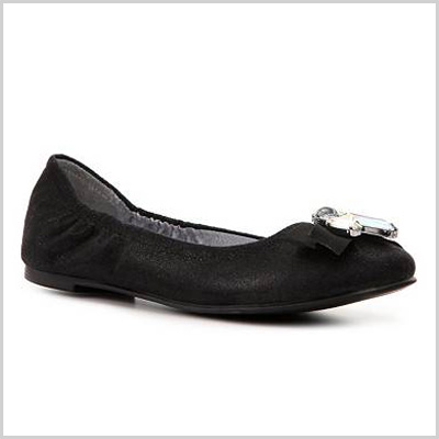 CL by Laundry Gem Stone Ballet Flat in Black