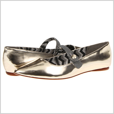 Matisse Bailey Flats in Silver