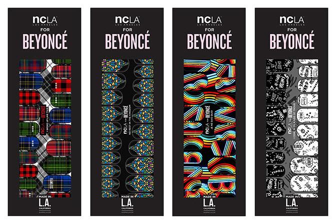 Beyonce NCLA nail wraps