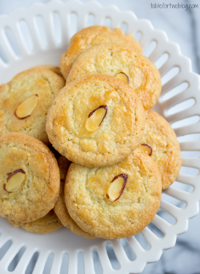 12. Chinese almond cookies recipe