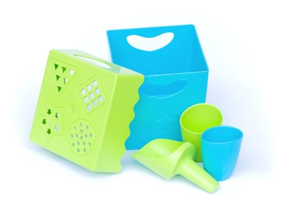 Biodegradable beach toys