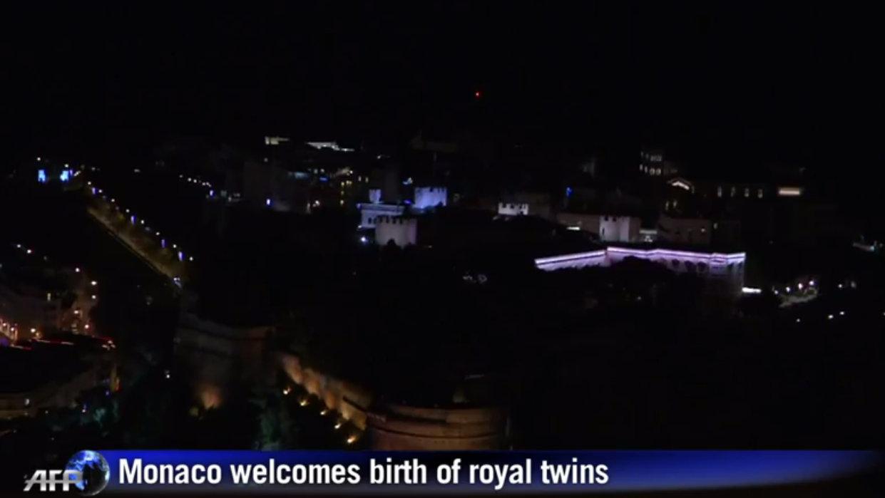 Monaco royal birth