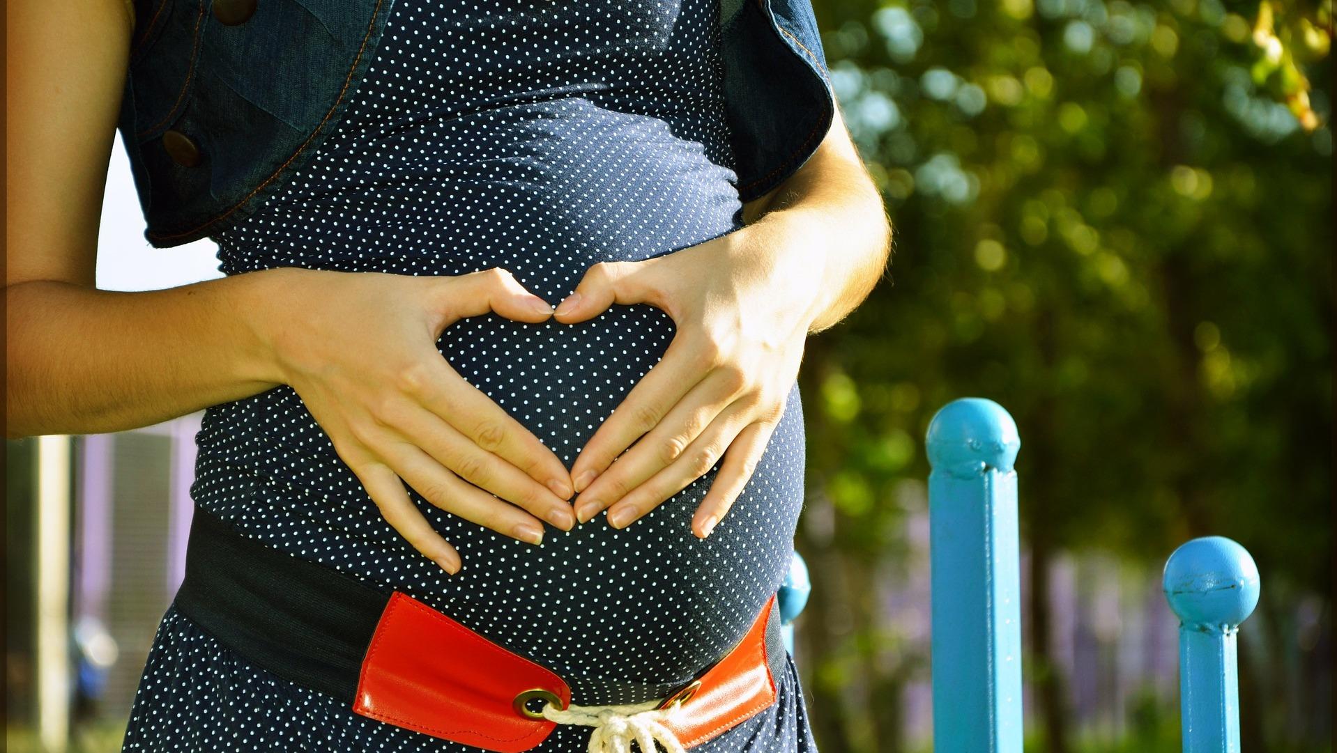 Pregnant schoolkids